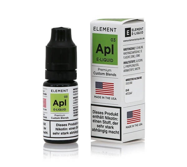 Element Apl - Apfel e-Liquid