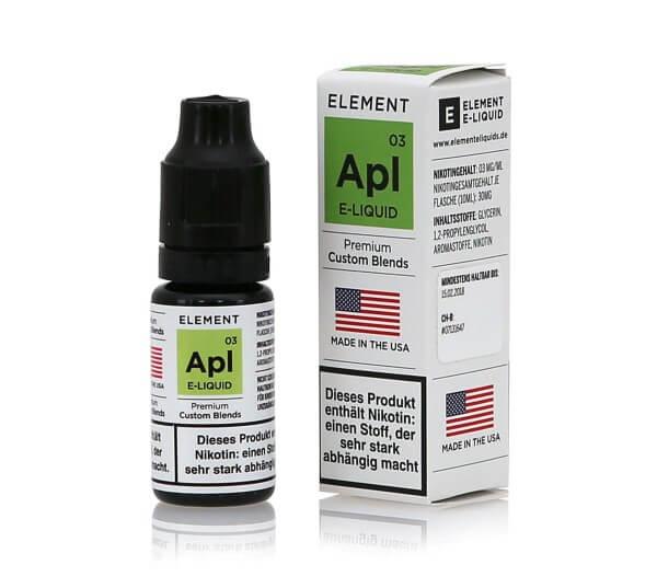 Element Apl - Apfel e-Liquid