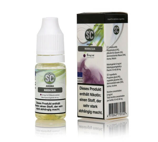 SC Maracuja E-Zigaretten Liquid