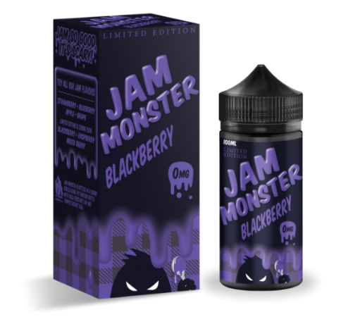 Jam Monster Limited Edition Blackberry 100ml Liquid