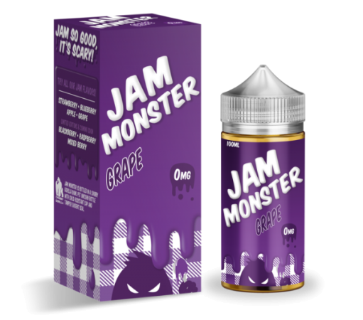 Jam Monster Grape 100ml Liquid