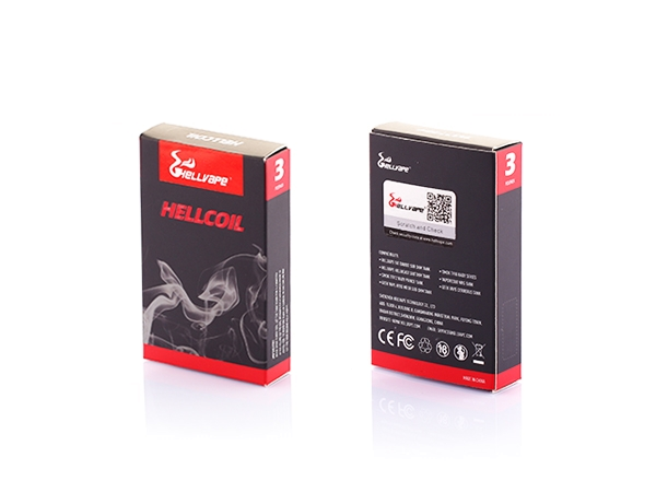Hellvape Verdampferkopf 0,15 Ohm (3er Pack)