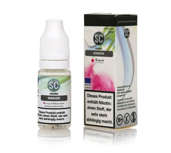 SC Himbeere E-Zigaretten Liquid
