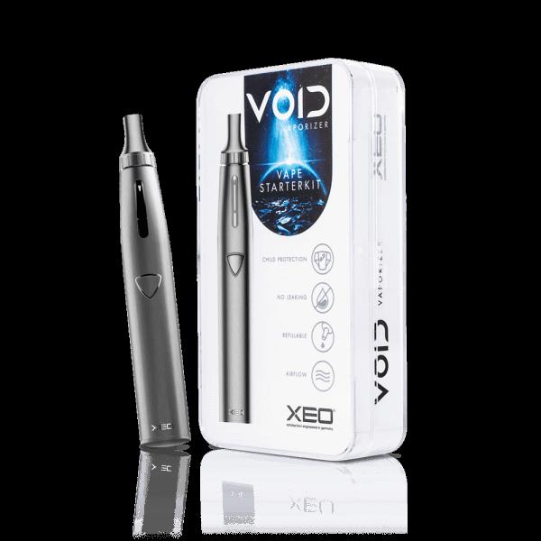 XEO VOID E Shisha Vaporizer Starter Kit Burst Silver
