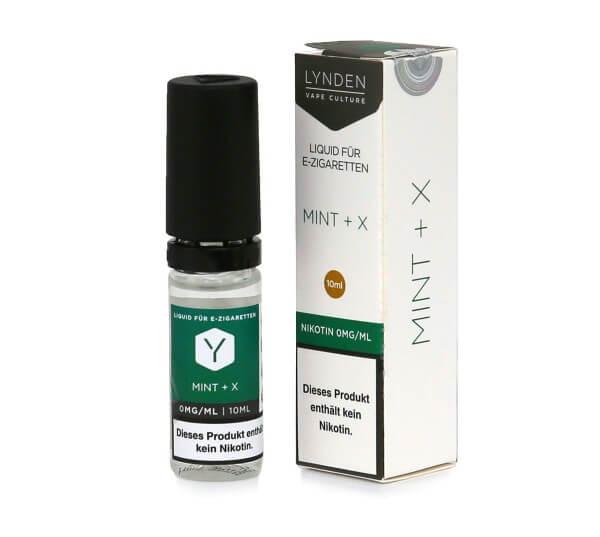 Lynden E-Liquid Mint + X
