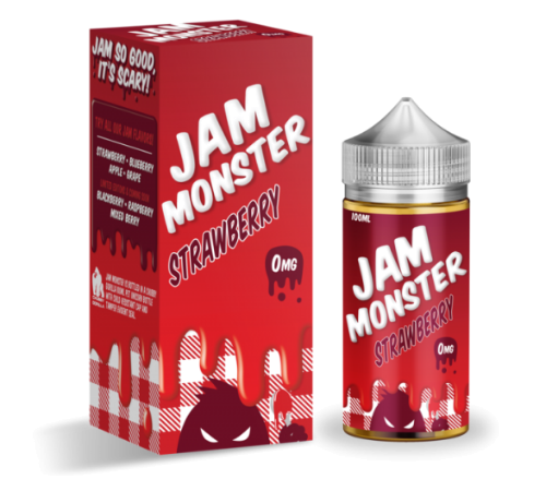 Jam Monster Strawberry 100ml Liquid