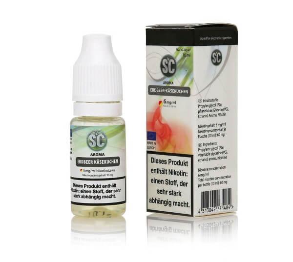 SC Erdbeer-Käsekuchen E-Zigaretten Liquid