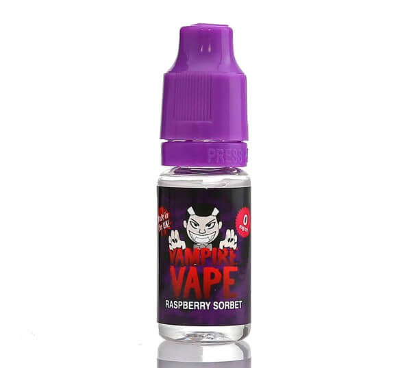 Vampire Vape Liquid Raspberry Sorbet 10ml