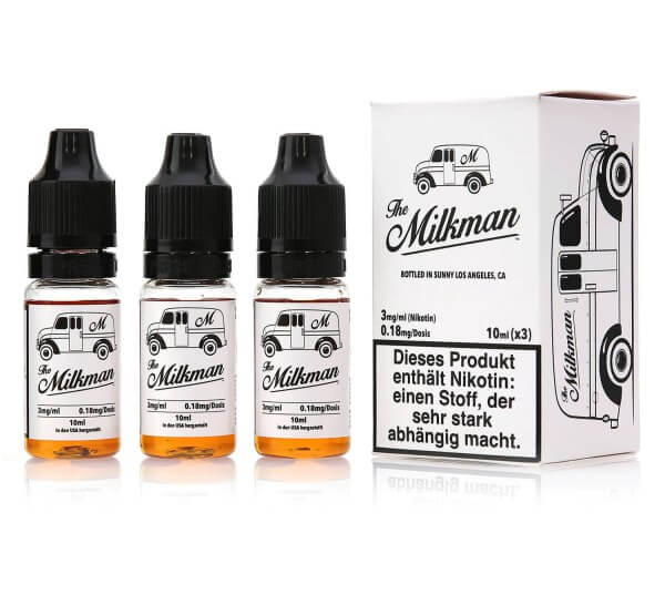 The Milkman Liquid (3x10ml)