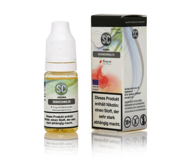 SC Erdbeermilch E-Zigaretten Liquid