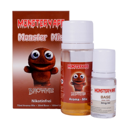Monster Mix Brownie 100ml Liquid
