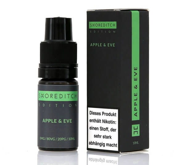 Shoreditch Apple & Eve E-Zigaretten Liquid