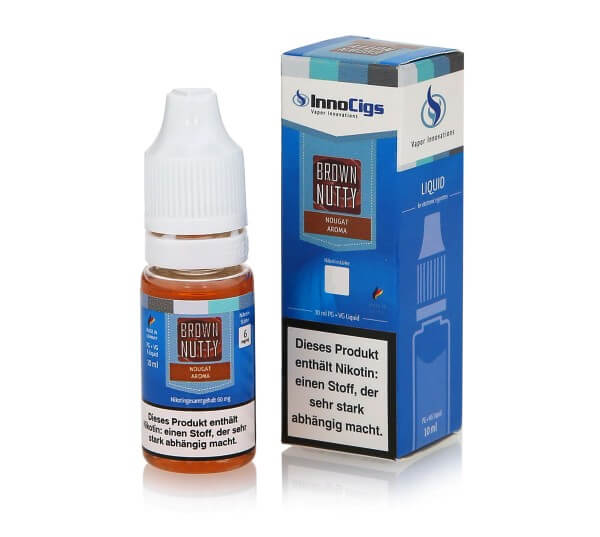 InnoCigs Brown Nutty - Nougat e-Liquid