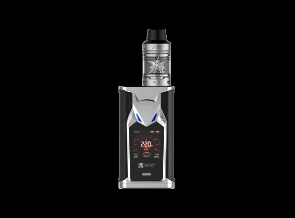 Vaptio Super Bat 220W E-Zigaretten Set Silber