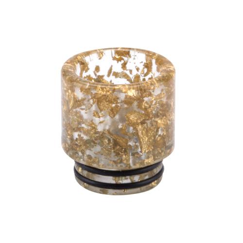 810er Mundstück Goldflocken (1 Stück)