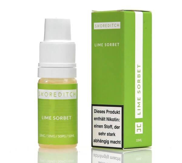 Shoreditch Lime Sorbet E-Zigaretten Liquid