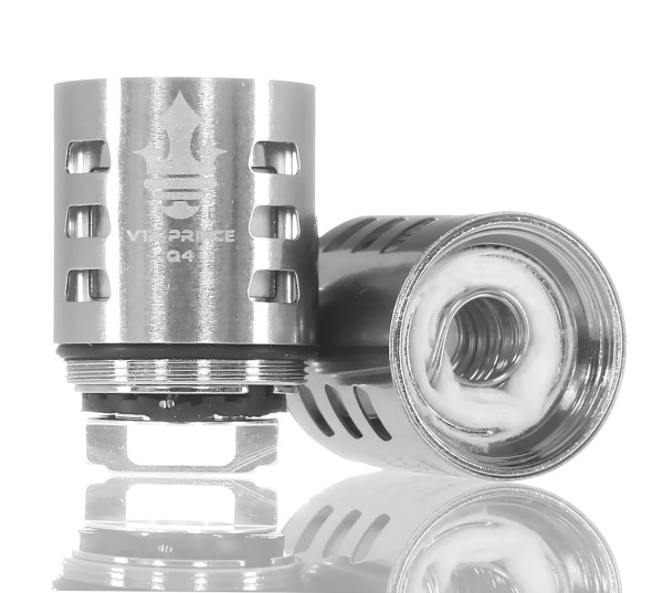 Steamax TFV12 Prince Verdampferkopf Q4 0,4 Ohm 3 Stück