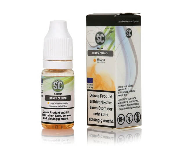 SC Honey Crunch E-Zigaretten Liquid