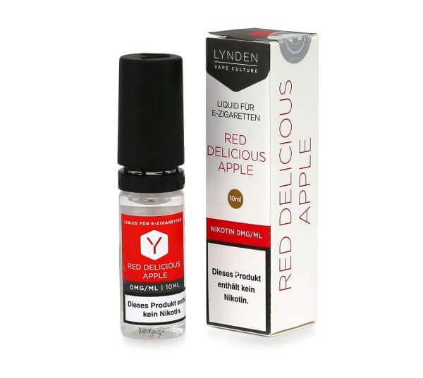Lynden E-Liquid Red Delicious Apple